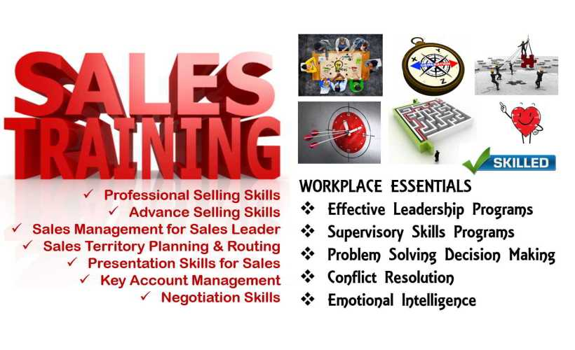 Sales Training & Workplace essentials